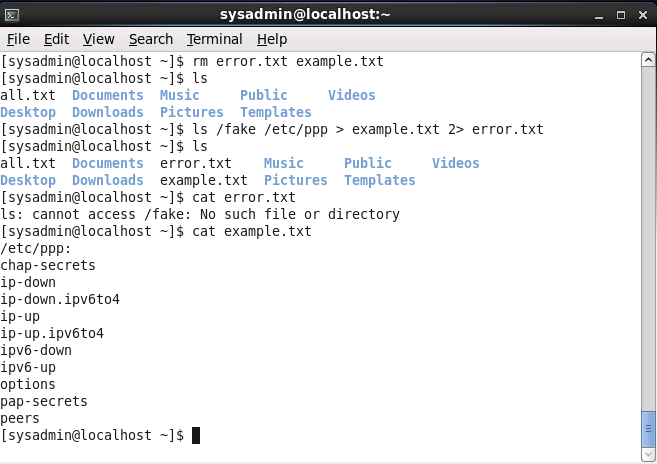 Linux - Pipes, Redirection, and REGEX-码迷移动版-m mamicode com